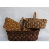 Buy cheap Rattan willow wicker decorative hanging basket from wholesalers