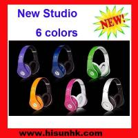 Buy cheap New monster studio beats studio headphones by beats dr dre with 6 colors from wholesalers