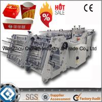 Buy cheap Durable Paper Carton Erecting Machine With Serve - Motor Control product