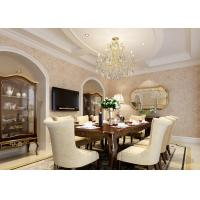 Classic Style 3d Wallpaper For Home Wall Vinyl Golden