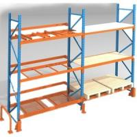 Buy cheap Selective Food Industrial Racking Systems / Heavy Duty Storage Rack from wholesalers