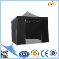 Buy cheap 3x3 Black Pop Up Outdoor Folding Gazebo Tent Market Party Marquee from wholesalers