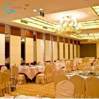 Buy cheap China movable floor to ceiling office partitions sliding partition for hotel banquet hall from wholesalers