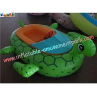 Buy cheap 0.9MM PVC tarpaulin Animal Bumper Inflatable Electric Battery Boat Toys for Kids from wholesalers
