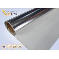 Buy cheap Good Quality Aluminum Foil Coated Cloth Laminated Roll Fireproof Fiberglass Fabric from wholesalers