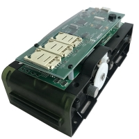 Buy cheap 1 slot Smart Card Reader Module , 12Mbps Motor Card Reader from wholesalers