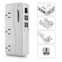 Buy cheap 200W Travel Power Converter 220V to 110V With 4 ports Smart USB Charger from wholesalers