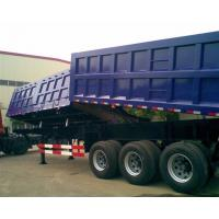 Buy cheap Garden Landscape Dump Truck Trailer With Hydraulic Cylinder Lifting system from wholesalers