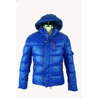 Buy cheap Custom  Ladies Casual Dresses Outerwear For Winter , Blue Short Mens Goose Down Jacket product