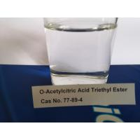 Buy cheap Colorless Liquid Citrate Plasticizer O- Acetyl Citric Acid Triethyl Ester from wholesalers