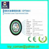 Buy cheap double jacket and double armored direct burial fiber cable gyta53 from wholesalers