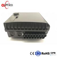 Buy cheap FTTH Fiber Termination Box Distribution 16 Cores MDU Splitters Combined SC LC from wholesalers