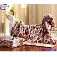 Buy cheap Luxury Home Use 100% Raschel Blanket Made In China from wholesalers