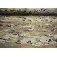 Buy cheap Ripstop Cotton Camouflage Polyester Fabric Woven Twill For Luggage / Uniform from wholesalers