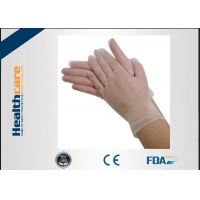Buy cheap One Time 4.5g Clear Vinyl Gloves Powder Free Latex Free Disposable Gloves Food Grade from wholesalers