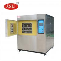 Buy cheap Analysis Instruments Hot And Cold Impact Testing Machine High Low Temperature Thermal Shock Test Chamber from wholesalers