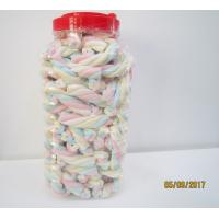 Buy cheap Rope Shape Twisted Marshmallow Candy , Gourmet Marshmallow Easter Candy from Wholesalers