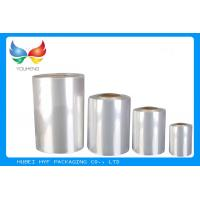 Buy cheap Soft PVC Heat Shrink Film Rolls 45% ~ 50% Shrinkage  For Label Printing from wholesalers