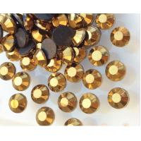 Buy cheap gold hematite/ crystal dorado nice glue heat press transfer rhinestone for shoe ornaments from wholesalers
