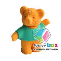 Buy cheap SEA022 Bear shaped animal shaped erasers, TPR cartoon eraser from wholesalers