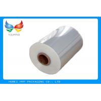 Buy cheap 40mic Shrinkable Clear PVC Shrink Label Wrap Film For Wrapping And Printing Label from wholesalers