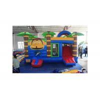 Buy cheap Jungle Monkey Water - Proof Inflatable Combo Jumping Castle For Children from wholesalers