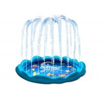 Buy cheap 60'' Backyard Inflatable Sprinkler Wading Pool For Kids Water Play And Swimming from wholesalers
