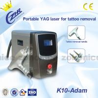 Buy cheap 1064nm / 532nm Laser Tattoo Removal Machine Portable With Detachable Handle from wholesalers