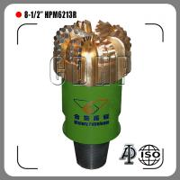 "China 8 1/2"" steel body pdc bit for oil and gas fixed cutter drill bit on sale"