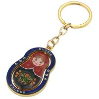 Buy cheap Promotional Custom High Quality Metal Zinc Alloy Keychain metal keychain zinc alloy high key chain from wholesalers