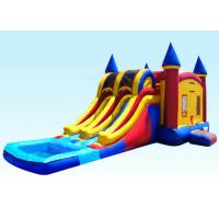 Buy cheap 29Ft Dual Lane Inflatable Castle Combo For Kids 29L x 13W x 14H from wholesalers