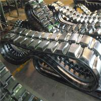 Buy cheap Rubber Track (130*72*30) for The Excavator from wholesalers