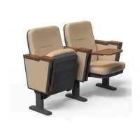 Buy cheap Luxurious Auditorium Theater  Chairs With Folded Tablet / Lecture Hall Seating from wholesalers