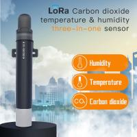 Buy cheap 5km Los 470mhz 433mhz lora NDIR wireless CO2 sensor with range 0-10000ppm from wholesalers