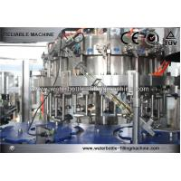 Buy cheap Juice / Draught Glass Bottle Filling Machine Automatic 1500ml Soft Drink Bottling Equipment from wholesalers