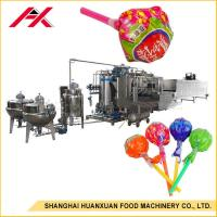 Buy cheap Lollipop Hard Candy Depositing Line , Hard Candy Making Machine 150kgs/H Capacity from wholesalers