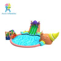 Buy cheap 2017 new design giant outdoor inflatable water park, commercial inflatable water playground for sale from wholesalers