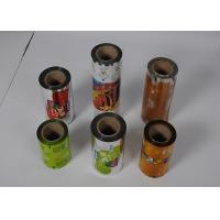 Buy cheap Food Grade Plastic Packaging Film Roll , Custom  Printed Automatic Packing plastic Film Roll from wholesalers