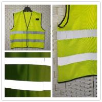 Buy cheap Reflective Uniform Work Clothes , Sleeveless High Visibility Safety Clothing product