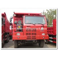 Buy cheap mining tipper truck / dump truck bottom thickness 12mm and HYVA Hydraulic lifting system from wholesalers