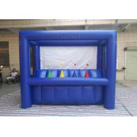 Buy cheap Dark Blue Hoverball Archery Inflatable Game 3.1 X 1.5 X 2.4 M Fit Entertainment from wholesalers