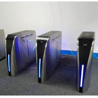 Buy cheap IR Anti Pinch Turnstile Security Systems , Turnstile Gate With Card Reader 35W from wholesalers