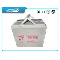 Buy cheap 12v 65ah SLA Deep Cycle Battery For Uninterruptible Power Supply from wholesalers