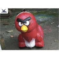 Buy cheap Cute Cartoon Angry Bird Stuffed Animal Ride On Toys , Electric Animal Rides Toy from wholesalers