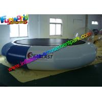 Buy cheap Durable Inflatable Water Toys 0.9 mm PVC Inflatable Water Trampolin For Sea from wholesalers