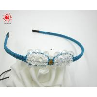 Buy cheap Unique Knitting Crystal Baby Bow Hair Bands Handmade Hair accessories for Girls from wholesalers