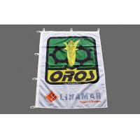 Buy cheap Hook Strong Ribbon Outdoor Advertising Flags UV Proof With Digital Printed from wholesalers
