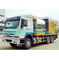 Buy cheap Bituminous Gravel Synchronous Sealing Truck , Sealer Truck , Max.Sealing Width 4m, HOWO 6x4 Chassis from wholesalers