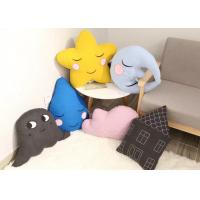 Buy cheap Cartoon Design Cute Plush Pillows Moon / Star Shaped Cushion For Baby from wholesalers