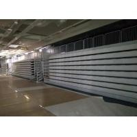 Buy cheap Stable Spectator Retractable Grandstands High Density Polyethylene With Blow Molded Seat from wholesalers